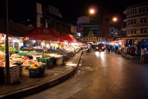 Natmarked i Chinatown