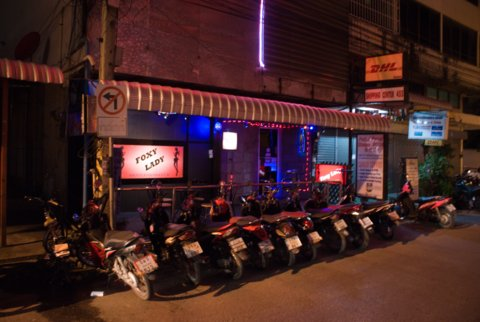 Foxy Lady go go-bar