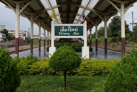 Chiang Mai togstation