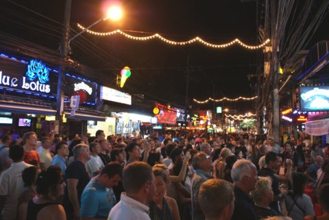 Bangla Road i Patong