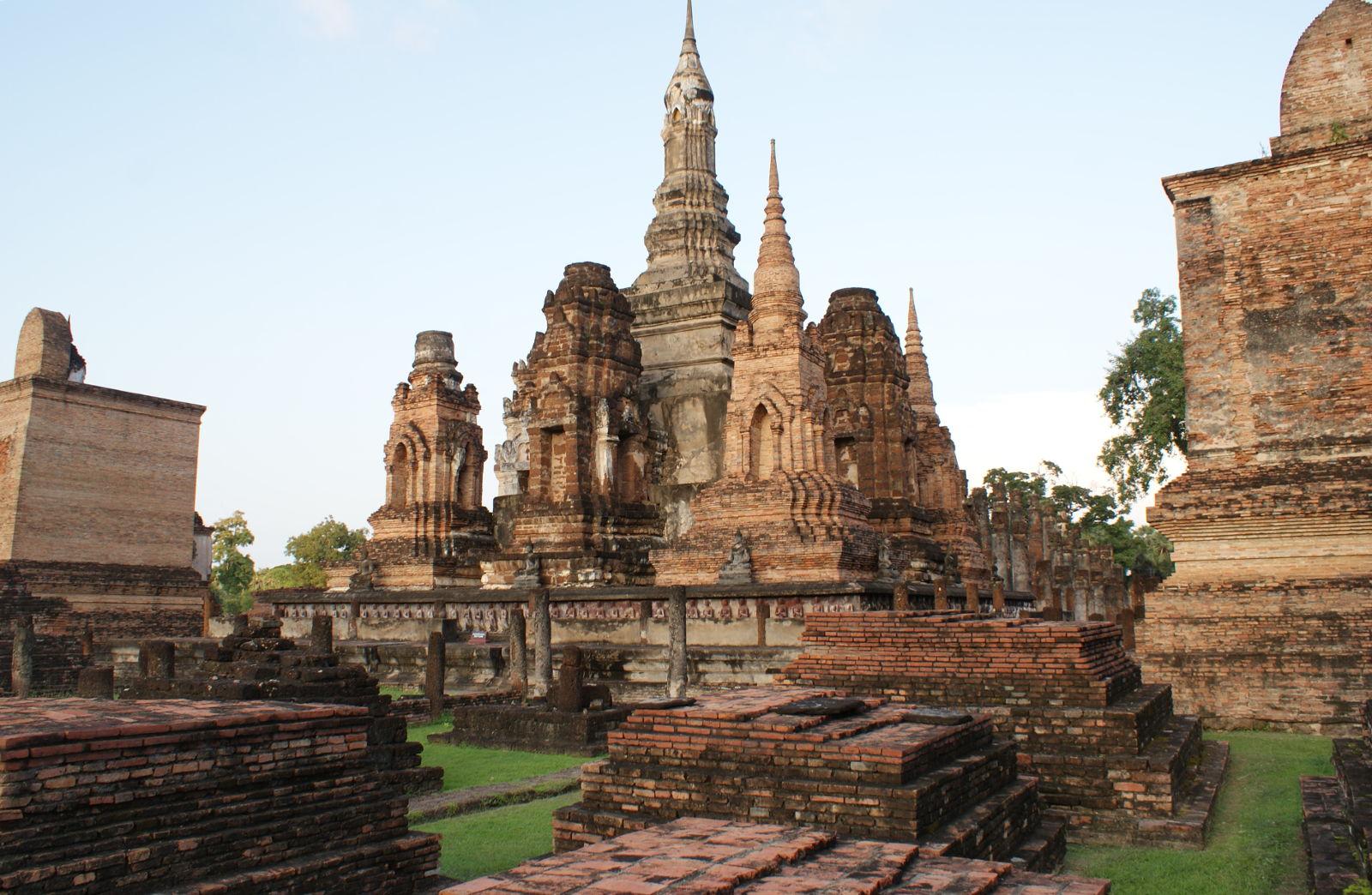 Woman in Sukhothai